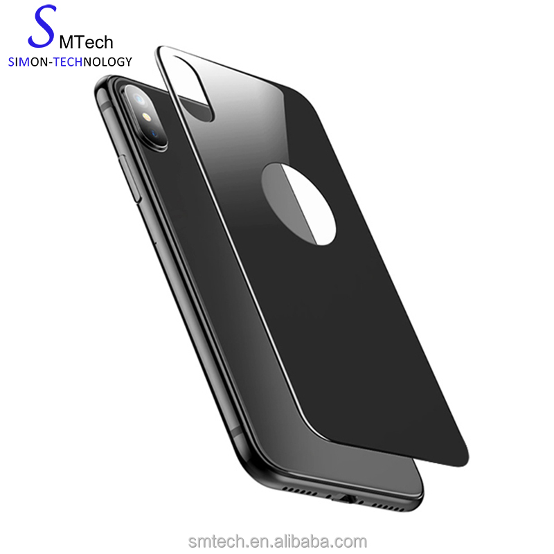 New Arrival! 3D Curved 9H Anti-Shock For iPhone X Back Cover Tempered Glass Screen Protector