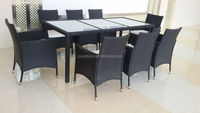 9 pcs rattan dinner set rattan outdoor furniture