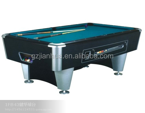 commecial Solid Wood +2cm black slate used pool table for sale 7ft 8ft 9ft