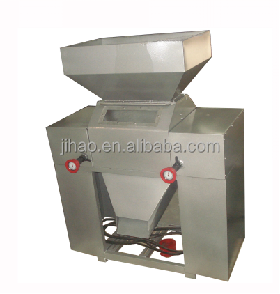 GHO high-power efficiently stainless steel double roller malt grinder for brewing