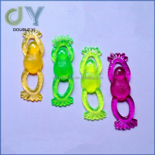 Custom colorful sticky toys, sticky frog funny toy for kids