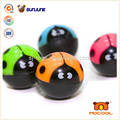 Black bug print bounce ball, cheap bouncing balls for promotional