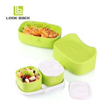 2017 amazon hot sale bento box high quality lunch