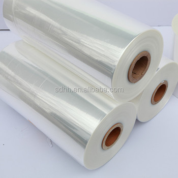 12,15,19,25 Mic polyolefin shrink film
