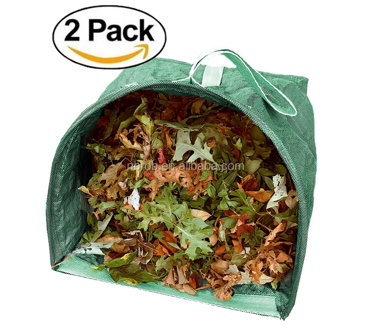 Portable Collapsible Pop Up Lawn Leaf Garden Waste Bag