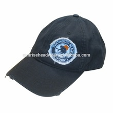 100%v cotton military black top baseball hat