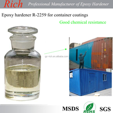 Good chemical resistance epoxy hardener R-2259 for container coatings