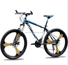 Mountain Bike 26-Inch / 24-Inch Bicycle Shock Absorber 21 Speed Gear Double Disc Mountain Bike Sell Like Hot Cakes!