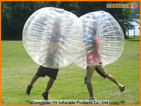 durable 1.5m PVC inflatable human bubble soccer ball