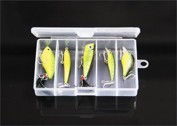 hard body lures 5pcs/lot small fishing lures
