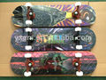 31'' 100% Canadian Maple Complete Skateboards