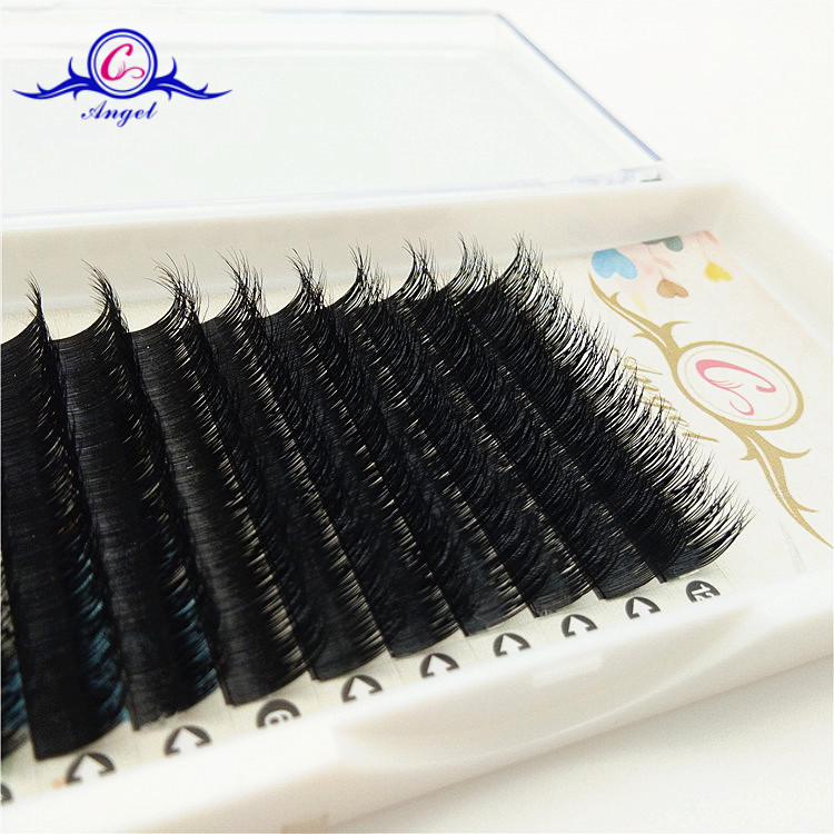 2017 New Products Custom Packaging Real False Mink Lashes Eyelash Extention