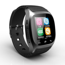 2017 hot selling Smart Bluetooth Watch Smartwatch M26 with screen for Android IOS Mobile Phone