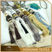 Made in China custom size wholesale tieback home textile tassel