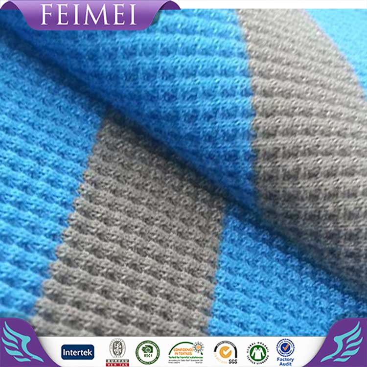 2016 Feimei Wholesale 100% Cotton Waffle Fabric from China Manufactory