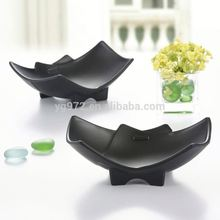 Unique Shaped A5 food grade 100% melamine unbreakable dinnerware