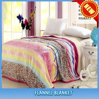 FREE SAMPLE hot sales 100% polyester super soft custom printed double bed sheet set blanket
