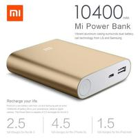 Hot New Products for 2016 10400mAh xiaomi Power Bank portable charger