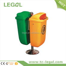 plastic recycle bin twins bin wall mounted trash can