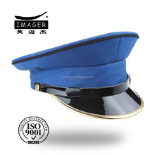 Make custom made fitted mens navy uniform hats