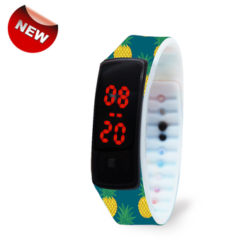 Wholesale China Factory Touch Screen Silicone Watches For Kids