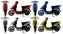 72V 20ah long range electric motorcycle with oil brake