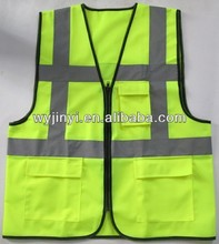 Prevalent Hi-Viz Fluorescentl High- Visibility Reflective Occupational Health and Safety Vest