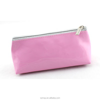 baby cute pencil bag, candy mirror triangle bottom make up pouch