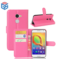 For Alcatel Phone Casing PU Leather Standing Flip Cover Case For Alcatel A3 5046Y