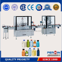 E liquid Glass bottle filling capping labeling machine 10ml 15ml