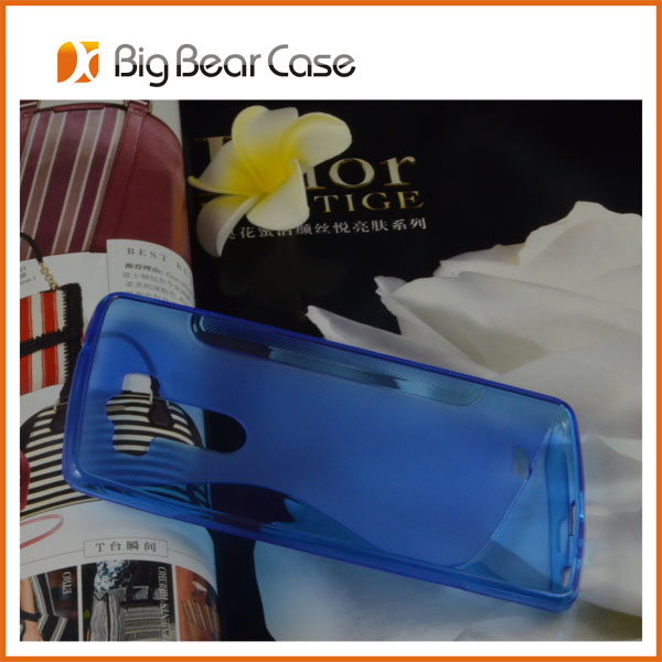 Cheap mobile phone case tpu back cover for LG G3 phone case