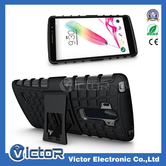 New Design 3D Cube Holster Case combo case for LG G4 Stylus