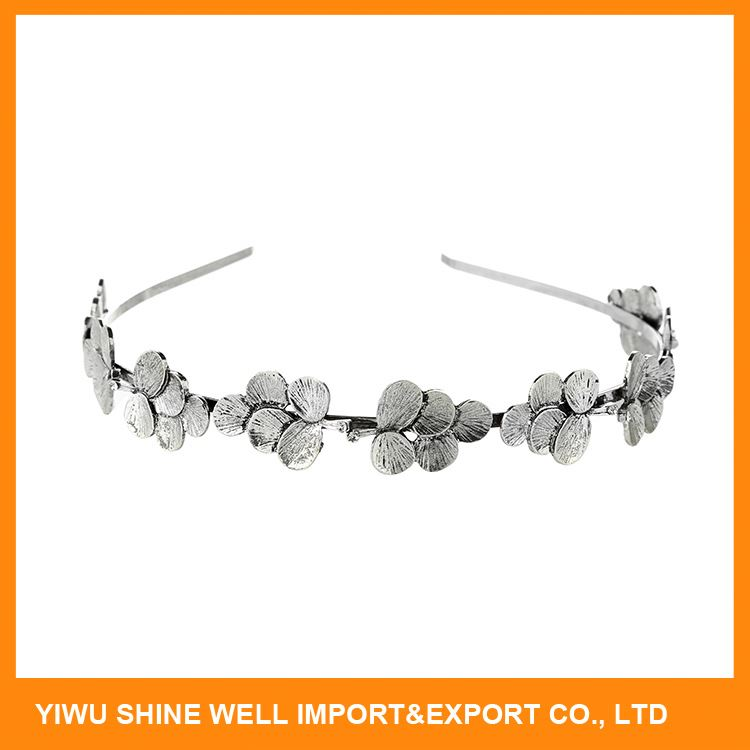 Factory Supply good quality crystal bridal headband from China