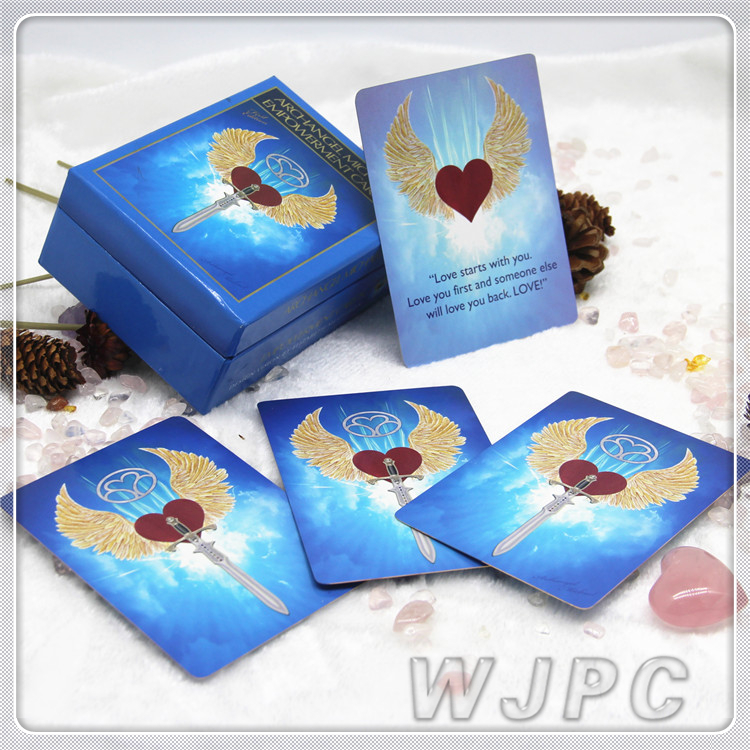 Customized Gold Edges Printing Rider Waite Tarot Decks Silver Foil With Book Design Printing Wholesale
