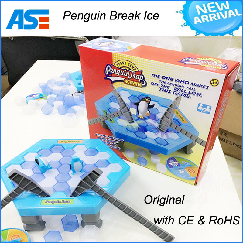 IN stock original Penguin trap penguin break ice game toy with CE & RoHS
