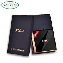 Yoyuan h96 pro plus 4k android tv box Amlogic S912 3gb ddr3 32gb emmc Octa-Core 2.4G/ 5.8G WiFi h96 pro set top box