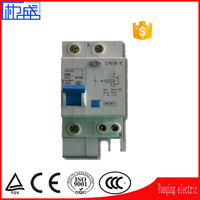 Power Distribution Equipment MCCB 1p 2p 3p 4p 40a le 30ma 63a +N elcb best switch protector mini circuit breaker