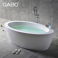 High-end Classical Double Large Artificial Stone Bathtub