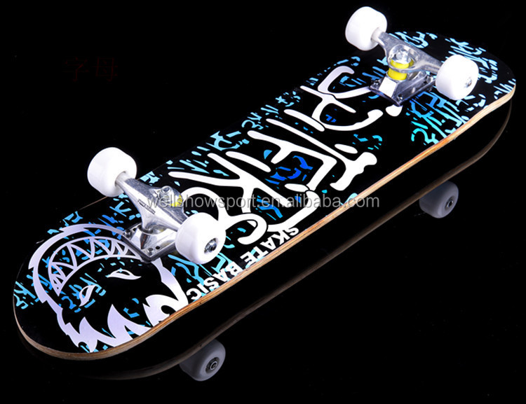 31inch Chinese Maple Complete Skateboard 3108 Canada Maple skateboard