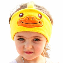 Kids Headphones - Easy Adjustable Kids costume Headband SILKY Headphones for Children, Perfect for Travel and Home -DUCK