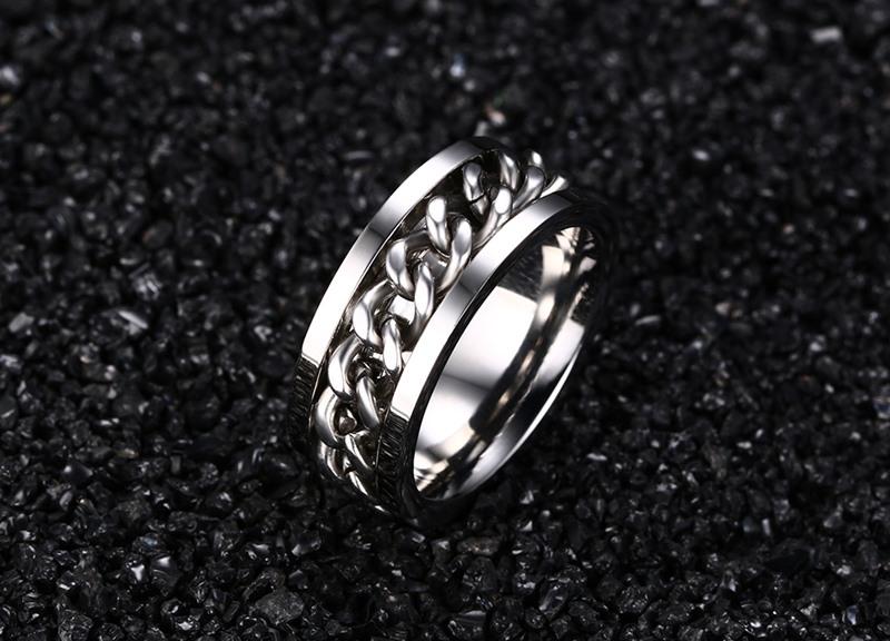 cheap stainless steel rings rotating spinner ring buy