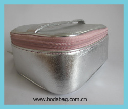 Yiwu wholesale cosmetic bag,pvc cosmetic bags and cases for cosmetic with gelatinization