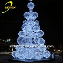 CE ROHS RS-tree13 custom transparent xmas tree ball