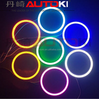 Autoki 2 x 3.94 inch LED SMD Head Running Day Light 100mm COB LED Angel eyes Halo Ring