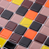 "multicolor bubble tile 20""x20"" backsplash homer decoration mosaic"