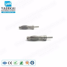 Male 4mm quality banana plug electronic connectors