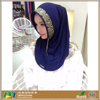Green fashion chiffon new designs muslim scarf womens hijab
