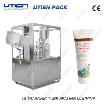 Automatic cosmetic tube filling and sealing machine in Hot Sale