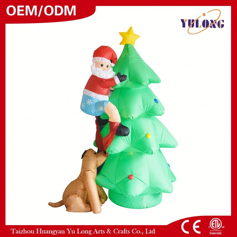 fashion of pleasant pleasant dog tree inflatable the birthday of Jesus Christ
