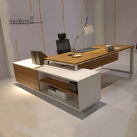 Modern pictures of wooden computer desk / executive desk (SZ-ODB364)